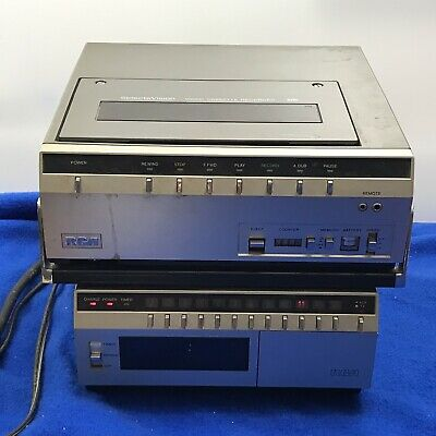 1981 RCA SELECTAVISION TOP LOADER VCR VINTAGE VIDEO CASSETTE RECORDER VHS Tuner