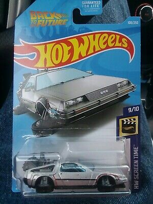 Hot wheels 2019 back to the future time machine hover mode delorean