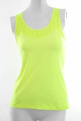 e349153a853e13 Nike Womens Athletic Shirt Size M Medium Fluorescent Green Tank Top Pro  Dri-Fit