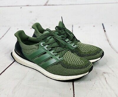 ee4695afe ADIDAS MEN S OLIVE Green  Ultra Boost  Running Shoes Size 13 ...