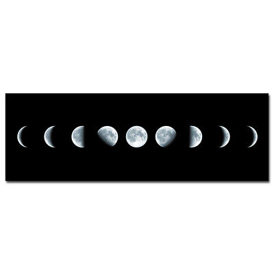 Painting Canvas Print Wall Art Pic Photo Home Decor Black Moon Large Abstract
