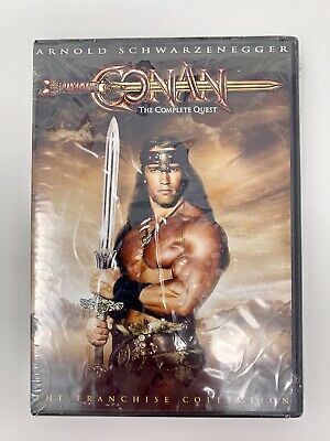 Conan The Barbarian & The Destroyer: The Complete Quest (DVD, 2004, 2-Disc Set)