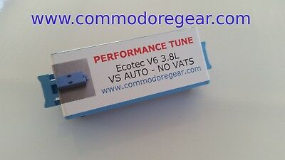 VS ONLY V6 3.8 (Ecotec) PERFORMANCE TUNE - Auto only - VATS or NO VATS