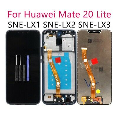 For Huawei Mate 20 Lite LCD Display Screen Touch Digitizer SNE-LX1 LX2 LX3