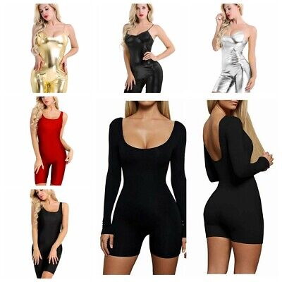 Women Sexy Clubwear Summer Short Playsuit Bodycon Party Jumpsuit Romper Trousers