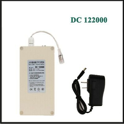 Portable DC122000 Waterproof 12V 20000mAh Rechargeable Li-ion Battery For Camera