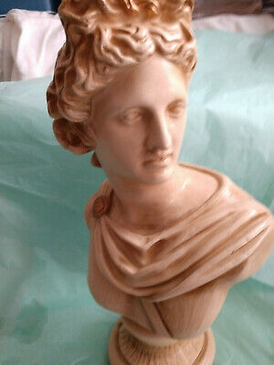 """Vintage Apollo And Diana Busts 14"""""""