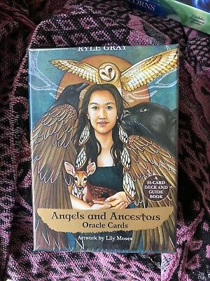 Oracle Card Deck Angels and Ancestors Brand New Native American Celtic One Only!