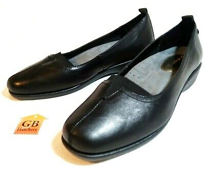 ad0f992ee8907 9 Size Women's shoes Hush Puppies Sonnet Black Patent Comfort Loafer Slip-On