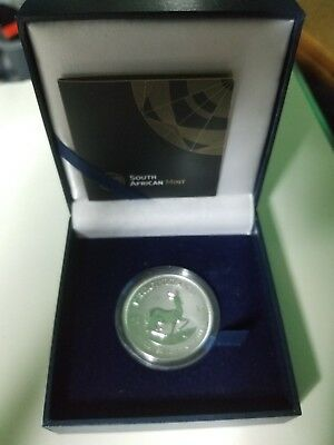 2017 South African Mint 1 oz Silver Krugerrand Premium Uncirculated Coin Limited