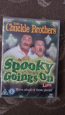 Chuckle Brothers Live Spooky Goings On Dvd Kids Stage Show Sealed