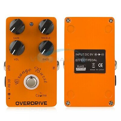 Caline CP-18 Overdrive Guitar Effect Pedal Guitar Accessories & Parts Mini Pedal