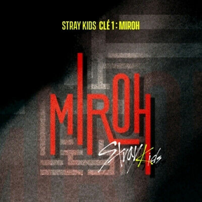 Stray Kids - Cle1 : MIROH (Normal Edition) album + Folded Poster