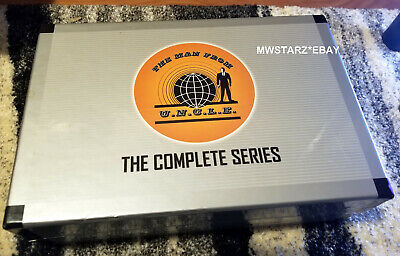 The Man from U.N.C.L.E Uncle The Complete Series DVD Briefcase Box