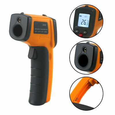 Non-Contact Laser Lcd Ir Infrared Termometro Digital Surface Thermometer Smart