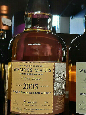 Wemyss North British Single Grain Scotch Whisky 9 Jahre 64,8 % vol. - 0,7 Liter