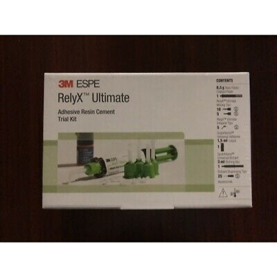 3M Espe Relyx Ultimate Adhesive Resin Cement - Trial Kit - Translucent