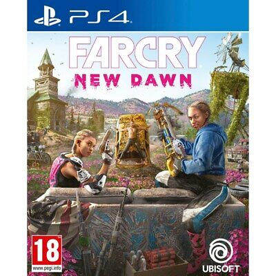 Far Cry New Dawn PS4 NEW SEALED ! BLACK FRIDAY SALE ! DISP. 2 P.M.