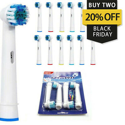 20 Fit For Braun Oral-B Precision Clean Toothbrush Replacement Brush Heads Eb-17