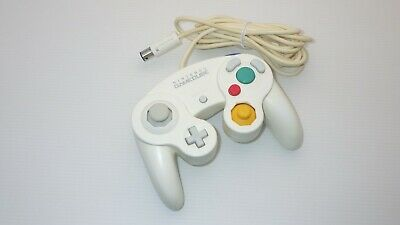 "Nintendo Official Game Cube / Wii / WiiU Controller  "" White "" TESTED /9472"