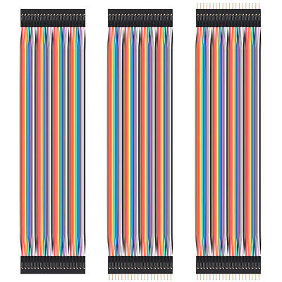Newly 20CM Male Female Dupont Wire Jumper Cable For Arduino Breadboard Set TE461
