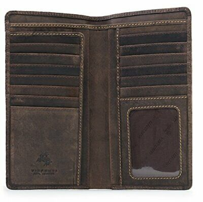 and Passports Visconti 1157 RFID Protection Large Leather Zip-Around Travel Wallet Planner for Credit Cards Tickets