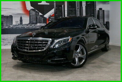 2016 Mercedes-Benz S-Class Maybach S600 SEDAN FINANCING AVAILABLE LUX & P1 PKG 2016 Mercedes Benz Maybach S 600 Sedan Burmeister Sound Clean Fully Loaded