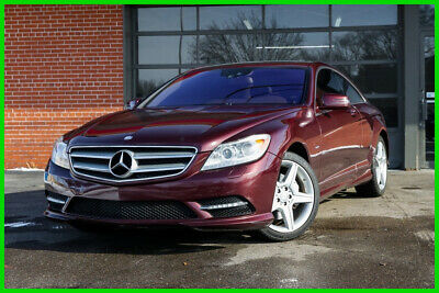 2011 Mercedes-Benz CL-Class Clear Title, Premium 2, Night Vision, Trunk Closer, 2011 CL 550 4MATIC AWD Coupe AMG Sport Package