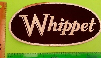 Overland Willys Whippet Classic Car Coupe Old Logo Emblem Patch 1970s Vintage