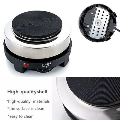 Portable Electric Stove Burner Hot Plate 500W Kitchen Cooker Coffee Tea Heater