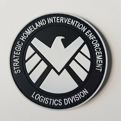 """Your Choice Agents of SHIELD//Hyrda 3/"""" PVC Patch w Hook//Loop Backing"""
