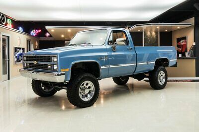 1984 Chevrolet K-20 4X4 Pickup Frame Off Restored, K-20 4X4! GM 350ci V8 Crate Engine, TH400 Automatic, PS, PB