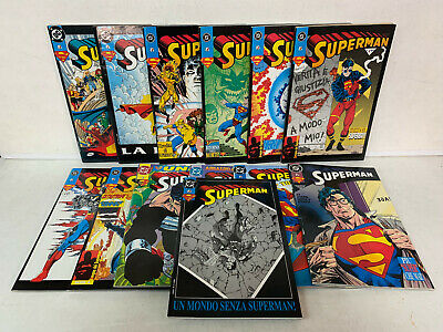 03668 Lotto primi 13 numeri - SUPERMAN - Play Press 1993/94