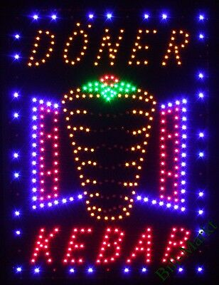 Döner Kebab Led Sign Light Display Illuminated Sign Advertising XXL Neon Sign
