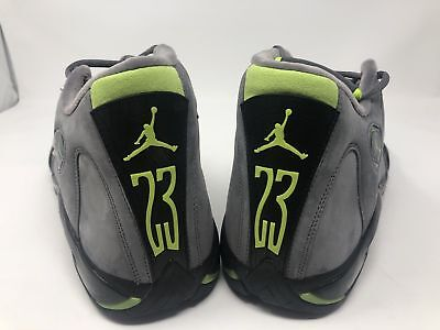 182540f15e0 2005 Air Jordan Xiv 14 Retro Size 14 Lt Graphite/chartreuse - Black Brand  New