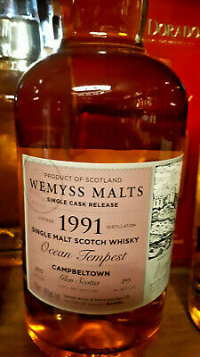 Wemyss Glen Scotia Single Malt Scotch Whisky 24 Jahre 46% vol. - 0,7 Liter