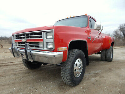 1987 Chevrolet C/K Pickup 3500 Silverado 1987 Chevrolet K30, Dually, Silverado, Fuel Injected 454 Big Block, Lifted, 4x4