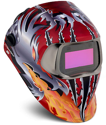 3M Speedglas 100v Welding Helmet Razor Dragon , Brand NEW
