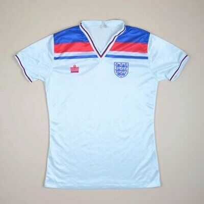 England 1980/1983 Home Football Shirt Jersey Admiral Vintage Size M Adult