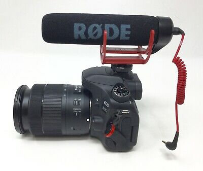 Canon EOS 80D 24.2MP DSLR Camera Bundle with 18-135mm Lens and Rode Video Mic
