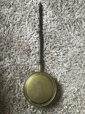 Kitchenalia ! Old Rustic Brass Bed Warmer ! Ideal For Country Cottage !