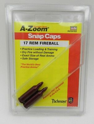 5f81ad0c4c0 A-ZOOM SNAP CAPS 416 Remington Magnum 2-Pack New In Package AZoom ...