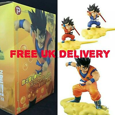 3x DragonBallZ figures toy Son Goku kid somersault cloud Toy Kids Gifts boxed