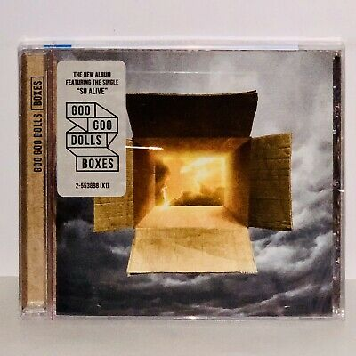 Factory Sealed Boxes by Goo Goo Dolls CD