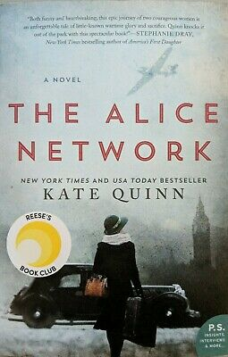 NEW Alice Network & Interviews + Insights : A Novel by Kate Quinn Book PB