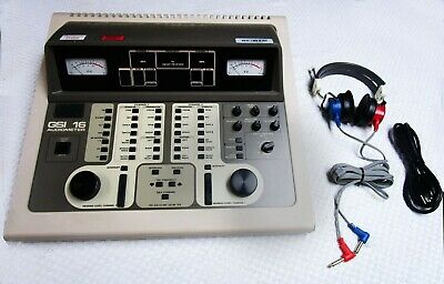 GSI 16 Two Channel Audiometer - Tested 60 Day War