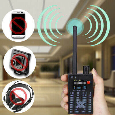 G318 Anti-Spy Wireless Signal Detector 1MHz-8GHZ Radio Bug Finder Camera G3Y2U