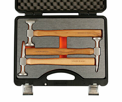 POWER-TEC CLEARANCE SALE! Aluminium Head Hammer Set for Alloy Panel Repairs