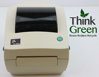 Zebra LP2844 Direct Thermal Barcode Shipping Label Printer USB with 1000 Labels