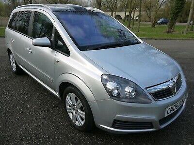 2006 Vauxhall Zafira 1.6 Active 7 Seater Mpv With Panoramic Roof 86K Low Miles..